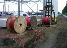 Прокладка силовых кабельных линий