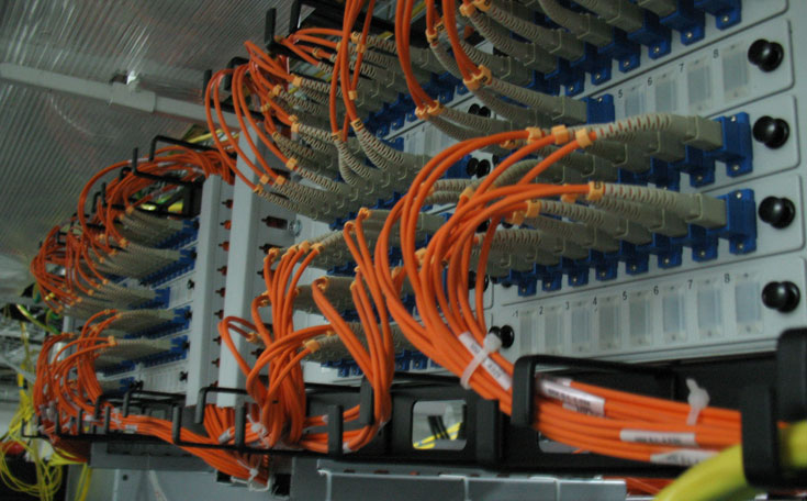 Прокладка слаботочных кабельных линий